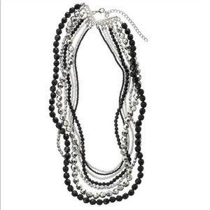 GANZ Metallic Elegance Layered Necklace